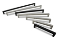 "METRO14 STAINLESS 160MM  »  9/16"" SQ. X 6-27/32"" OA, Brushed or Matte Black"
