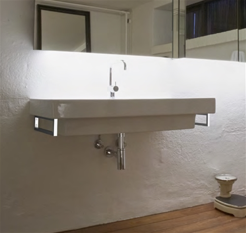 S1.470 & S2.480 Basin Brackets Stainless Steel