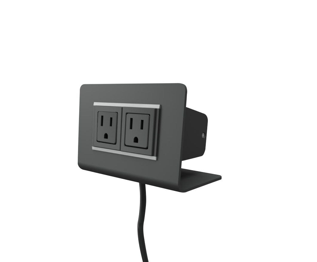 """PASSPORT 2"", TwoElectricOutlets, ThreeFinishes"
